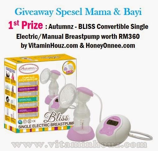 1st Prize giveaway by vitaminhouz.com