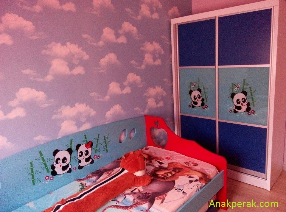 Idea Dekorasi Bilik Tidur Anak Lelaki Afiq Hazim Arif