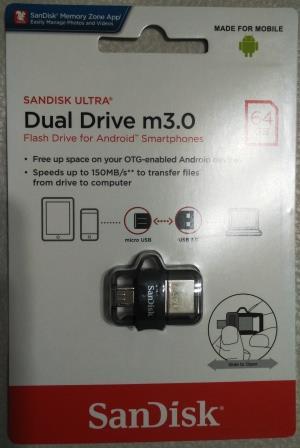SanDisk Ultra Dual OTG Drive M3.0 64GB